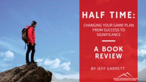 Half Time: A Book Review